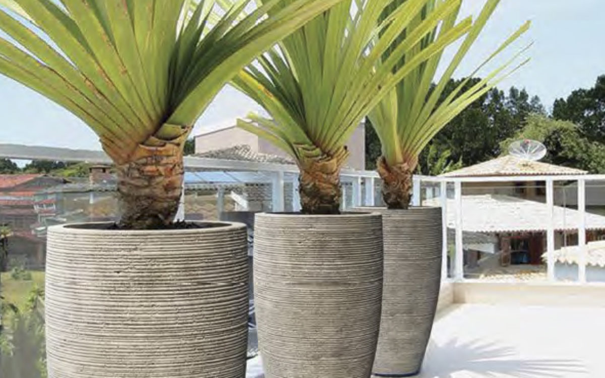 Wildside Trading pots from Stone Series